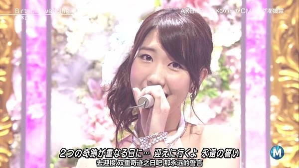 【东京不够热】130927 Music Station AKB48 剪辑版_2013101163556