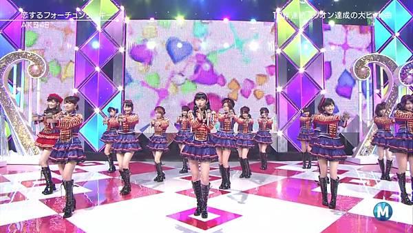 【东京不够热】130927 Music Station AKB48 剪辑版_201310117295
