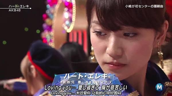 【东京不够热】130927 Music Station AKB48 剪辑版_201310117301