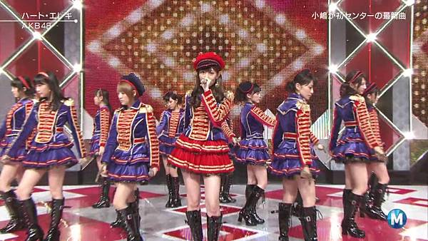【东京不够热】130927 Music Station AKB48 剪辑版_2013101173447