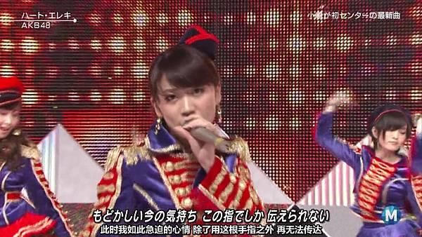 【东京不够热】130927 Music Station AKB48 剪辑版_2013101173647
