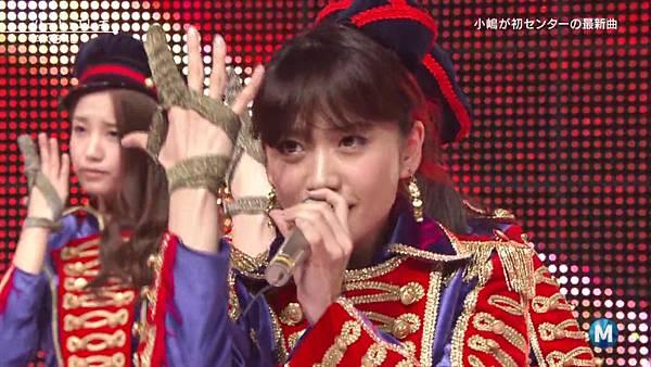 【东京不够热】130927 Music Station AKB48 剪辑版_2013101174025