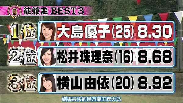 【东京不够热】131116「めちゃ×2イケてるッ!」AKB48大运动会SP_2013112123012