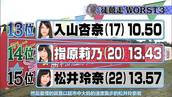 【东京不够热】131116「めちゃ×2イケてるッ!」AKB48大运动会SP_2013112123024