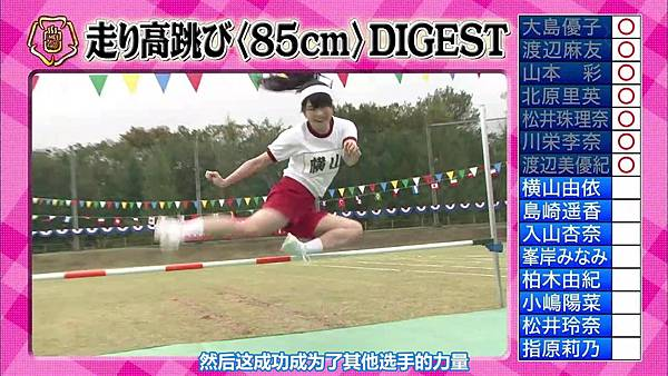 【东京不够热】131116「めちゃ×2イケてるッ!」AKB48大运动会SP_2013112215822