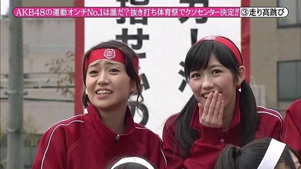 【东京不够热】131116「めちゃ×2イケてるッ!」AKB48大运动会SP_201311222722