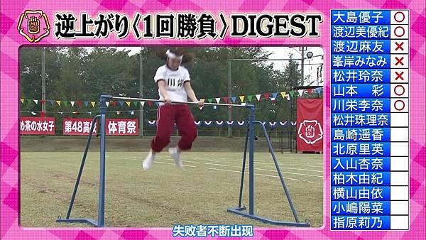 【东京不够热】131116「めちゃ×2イケてるッ!」AKB48大运动会SP_2013112221817