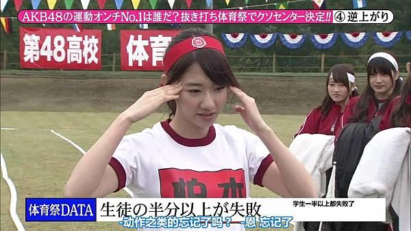 【东京不够热】131116「めちゃ×2イケてるッ!」AKB48大运动会SP_2013112222429