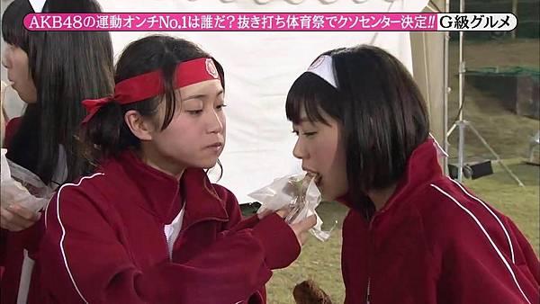 【东京不够热】131116「めちゃ×2イケてるッ!」AKB48大运动会SP_2013112223629