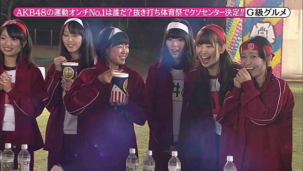 【东京不够热】131116「めちゃ×2イケてるッ!」AKB48大运动会SP_2013112224041