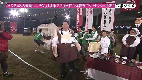 【东京不够热】131116「めちゃ×2イケてるッ!」AKB48大运动会SP_2013112224155