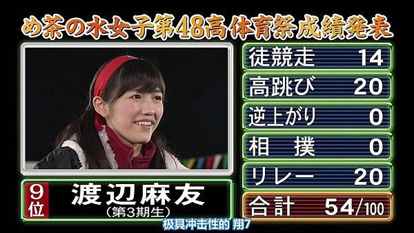 【东京不够热】131116「めちゃ×2イケてるッ!」AKB48大运动会SP_2013112212549