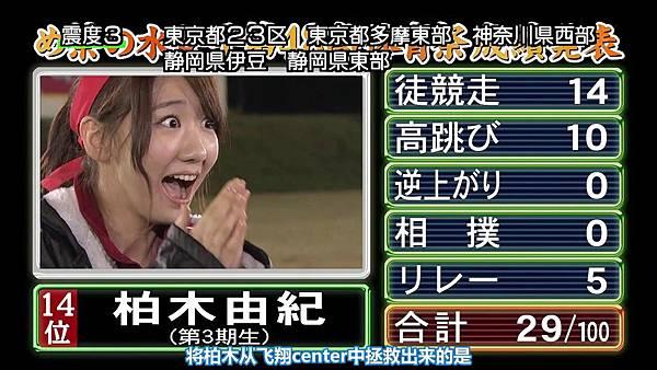 【东京不够热】131116「めちゃ×2イケてるッ!」AKB48大运动会SP_2013112213424