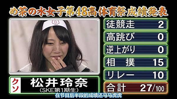 【东京不够热】131116「めちゃ×2イケてるッ!」AKB48大运动会SP_2013112213619