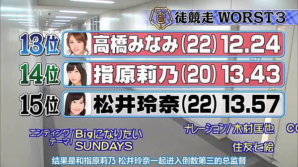 【东京不够热】131123「めちゃ×2イケてるッ!」AKB48 大运动会未公开SP_20131128231753