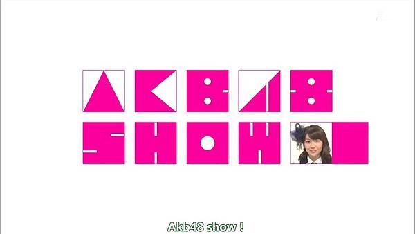 【触角革命字幕组】140111 AKB48 SHOW%21 ep13_201412616487