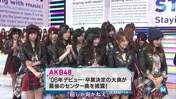 【东京不够热】140207 Music Station AKB48剪辑版_20142911032