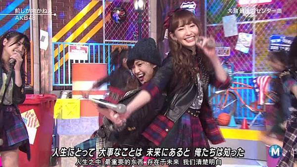 【东京不够热】140207 Music Station AKB48剪辑版_201429115258