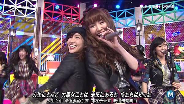 【东京不够热】140207 Music Station AKB48剪辑版_201429115319