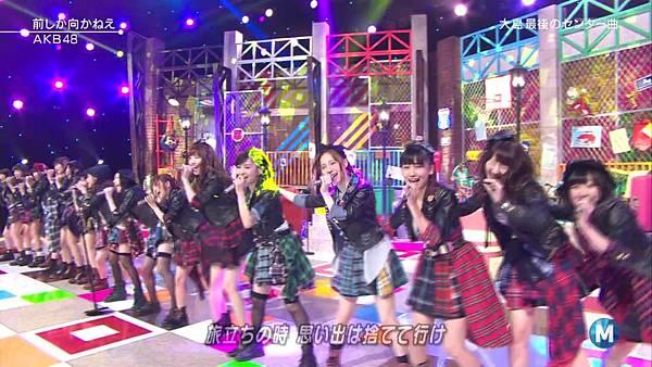 【东京不够热】140207 Music Station AKB48剪辑版_201429115613