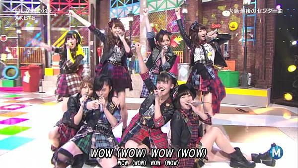 【东京不够热】140207 Music Station AKB48剪辑版_201429115729