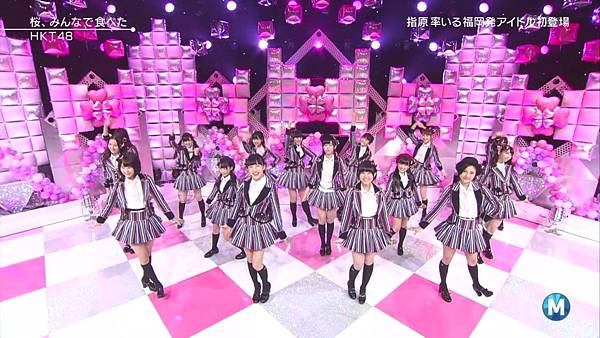 【东京不够热】140214 Music Station HKT48 剪辑版_201421511487