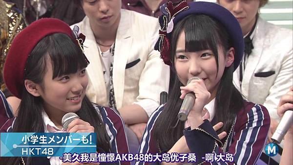 【东京不够热】140214 Music Station HKT48 剪辑版_2014215114653