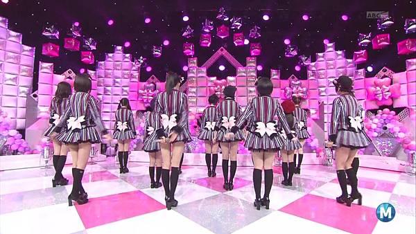 【东京不够热】140214 Music Station HKT48 剪辑版_2014215114749