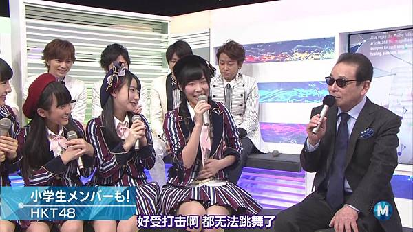 【东京不够热】140214 Music Station HKT48 剪辑版_201421511469