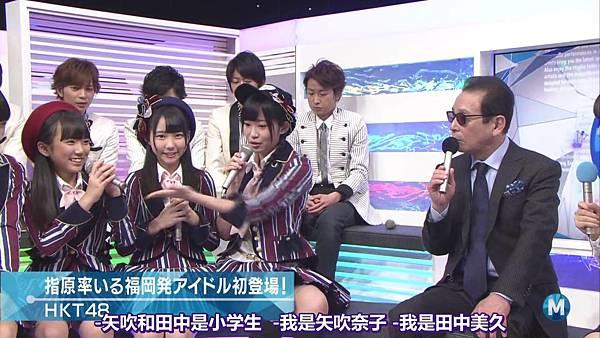【东京不够热】140214 Music Station HKT48 剪辑版_2014215114421