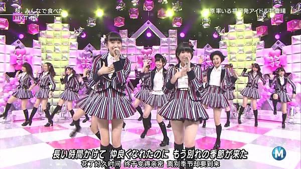 【东京不够热】140214 Music Station HKT48 剪辑版_201421512415