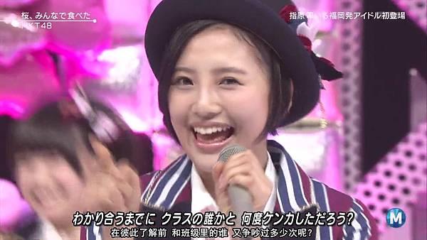 【东京不够热】140214 Music Station HKT48 剪辑版_201421512524