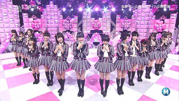 【东京不够热】140214 Music Station HKT48 剪辑版_201421512104