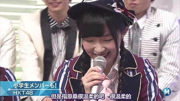 【东京不够热】140214 Music Station HKT48 剪辑版_2014215121811