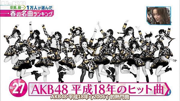 【U-ko字幕組】140321 Music Station(AKB48部分)_201432323751