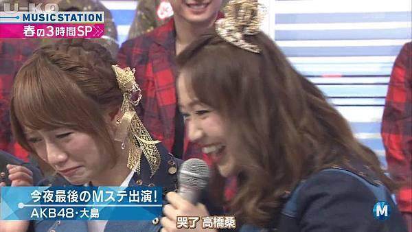 【U-ko字幕組】140321 Music Station(AKB48部分)_2014324204034
