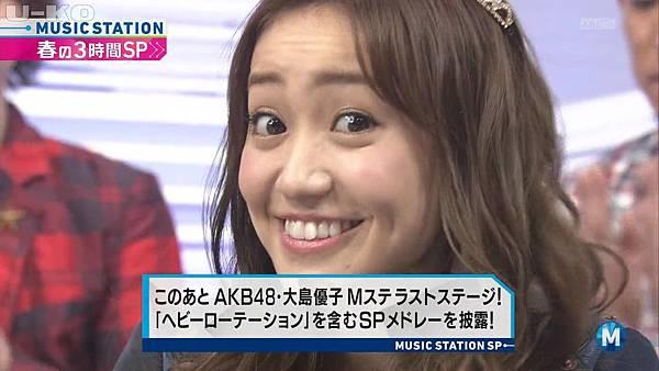 【U-ko字幕組】140321 Music Station(AKB48部分)_2014324205129