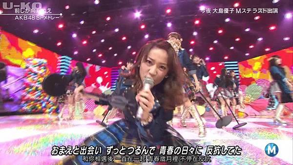 【U-ko字幕組】140321 Music Station(AKB48部分)_2014324205531