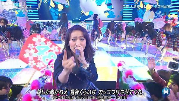 【U-ko字幕組】140321 Music Station(AKB48部分)_201432421511