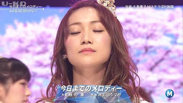 【U-ko字幕組】140321 Music Station(AKB48部分)_201432421209