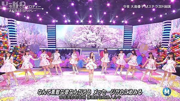 【U-ko字幕組】140321 Music Station(AKB48部分)_201432421295