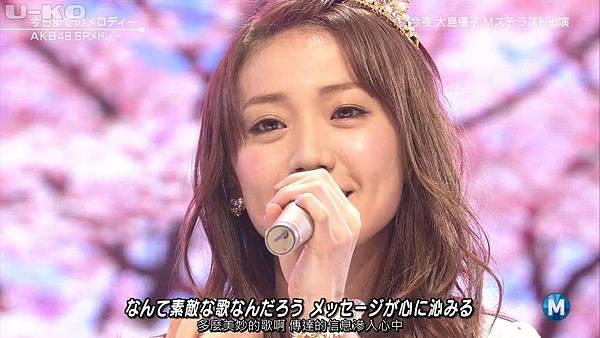 【U-ko字幕組】140321 Music Station(AKB48部分)_201432421335