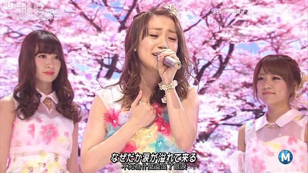 【U-ko字幕組】140321 Music Station(AKB48部分)_2014324213433