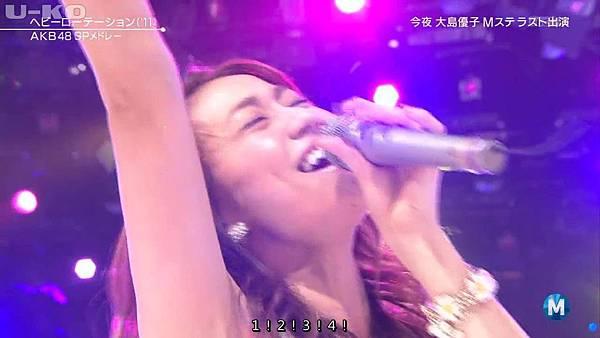 【U-ko字幕組】140321 Music Station(AKB48部分)_2014324214846