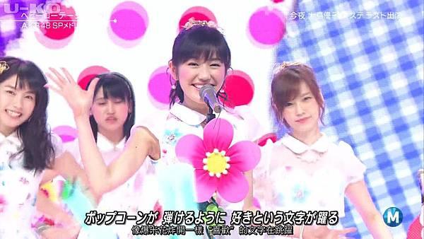 【U-ko字幕組】140321 Music Station(AKB48部分)_2014324215142