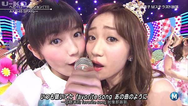 【U-ko字幕組】140321 Music Station(AKB48部分)_201432421578
