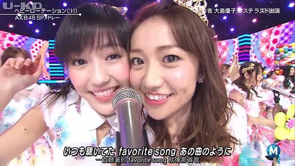 【U-ko字幕組】140321 Music Station(AKB48部分)_2014324215627