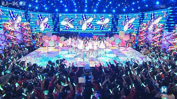 【U-ko字幕組】140321 Music Station(AKB48部分)_201432422319