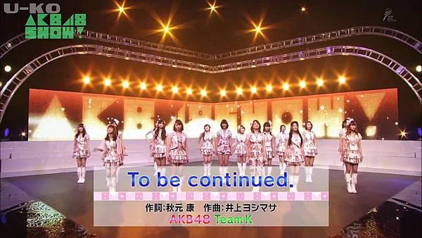 【U-ko字幕組】140405 AKB48SHOW ep24_201449232541