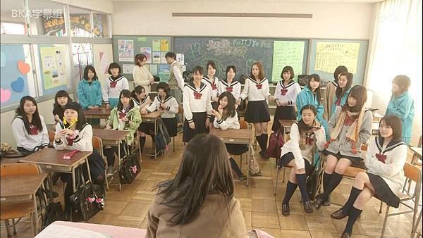 [BKA字幕組]水手服丧尸 第一話「転校生」中日双语 1080P-10bit_20144201347